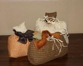 Set of 3 Fall Pumpkins (no.1)