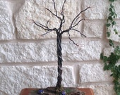 Wire Jewerly Holder Tree Sculpture, Great for Home or Boutique Display