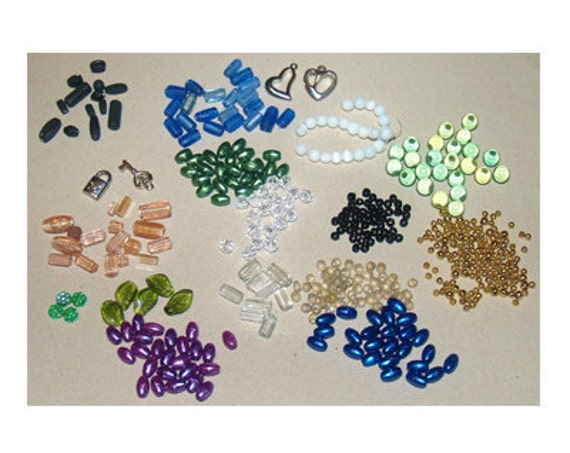 469 Glass, Acrylic or Metal Beads and Charms Close Out Prices