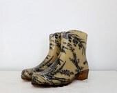 Vintage Rain Boots - European Size 37, US Size 6.5 - 7