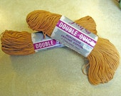 2 Skeins Vintage Lily Brand Double Quick Crochet Thread