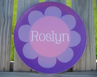 Personalized Melamine Plate - You Pick your Design from our shop