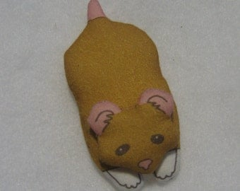 GOLDEN HAMSTER - GnomePet - of the Woodland and Home Variety - Free Shipping USA