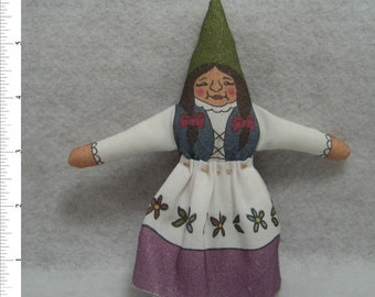 GNOMESS - Adult Female - of the Woodland and Home Variety - Free Shipping USA