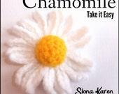 Chamomile Crochet Pattern PDF