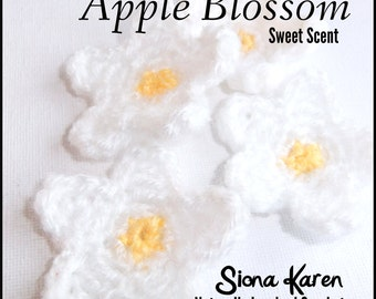 Apple Blossom Crochet Pattern PDF