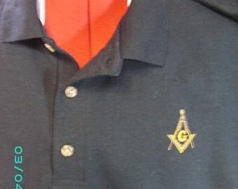 PERSONALIZED Polo with Masonic Emblem