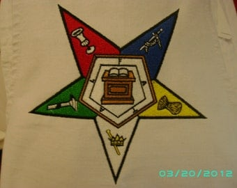 Order of Eastern Star Canvas Totebag