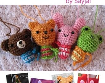 ENGLISH Instructions - Instant Download PDF Crochet Pattern Mini Gang