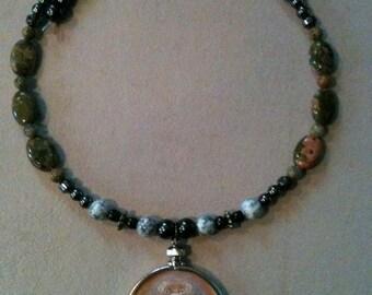 Ferret Buddha Beaded necklace