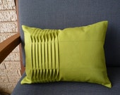 Handmade Pleated Cotton Pillow Cover