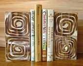 Tree Ring Art Blocks Eco Friendly  Recycled  Original Art on 4 x 4 cradled wood panels