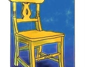 The Orange Chair Notecard