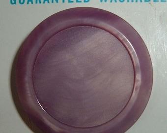4 Vintage Le Bouton Buttons in  Purple