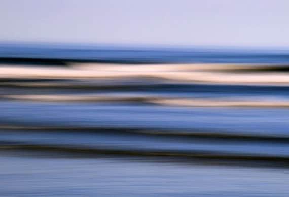 Ocean Decor, Blue Water, Waves, Abstract Seascape, Coastal Art, Fine Art Wall Hanging, Photography, 11X14 Mat