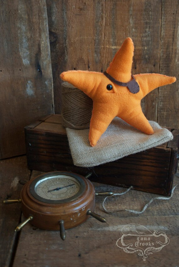 Plush Sea Star - Surly Sea Star: Special Agent  Limited Edition