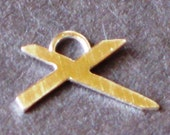 Sterling St. Andrew's Cross Charm for Nashville Flood Relief by Resurrection Silver