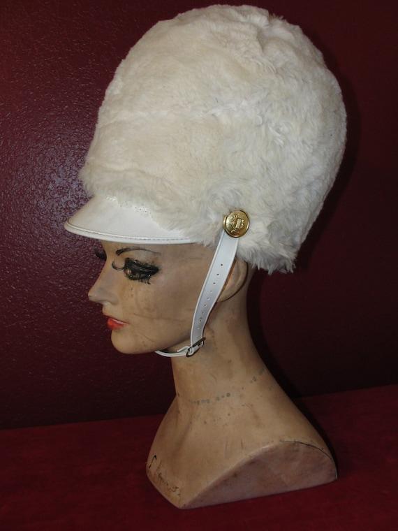 Vintage Uniform Hat Drum Majorette Halloween Costume