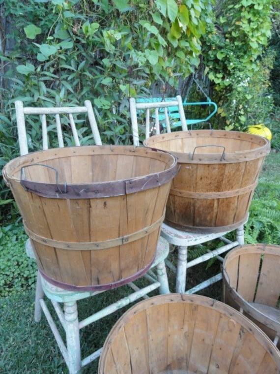 RESERVED FOR GRUNSTAD   Orchard Basket Fall Harvest Bushel Country Wedding