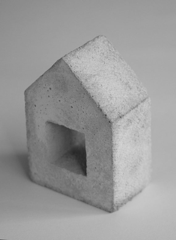 House (Concrete Sculpture)