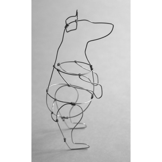 Bear (Wire Sculpture)