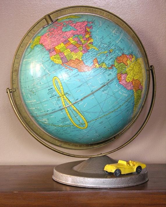 VIntage School Globe