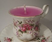 Scented Tea Cup Candle - Royal Albert Made in England