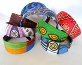African Wax Print Headbands-Plain