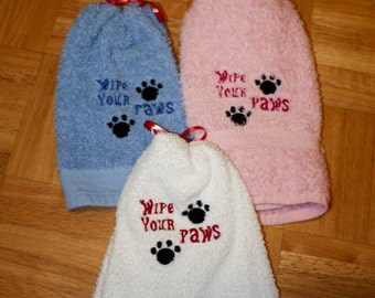 Paw Towel Wipe your paws
