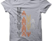 ARROWS on Lt Gray  T shirt