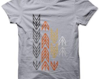 ARROWS on Lt Gray  T shirt