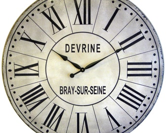 36 inch French Tower Large Wall Clock - replica antique style Roman numerals big