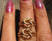 Love Knot Ring Unity Knot Ring        Any Size 20.00 dollars