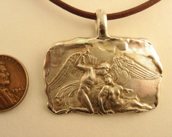 Cupid and Psyche Pendant