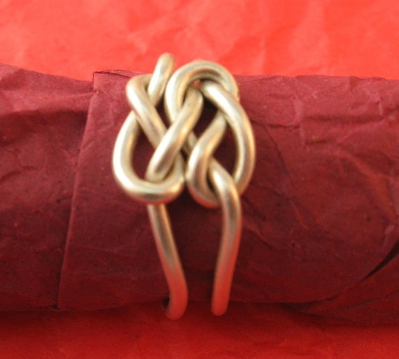 Forever and Ever Love Knot Ring