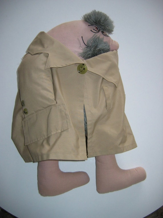 Uncle SHERMAN Flasher Doll.  Anatomically correct.  Soft Doll, Toy, Risque.  Vintage 1970s