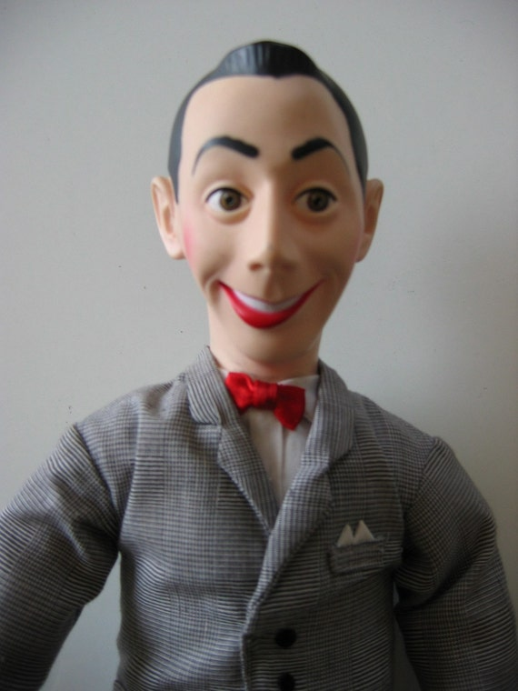 pee wee herman talking doll from the 80 39 s 1987. Black Bedroom Furniture Sets. Home Design Ideas