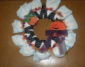 CUSTOM ORDER DIAPER WREATH FOR CHIBIEV