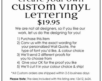 create your own custom design