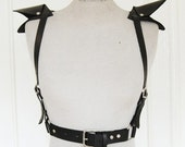 2-Wing Leather Harness