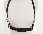 THE BASIC Leather Harness - Black