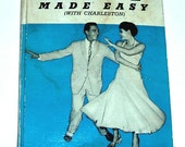 VINTAGE book LINDY and CHARLESTON, how to dance, with two 45 rpm records, illustrated