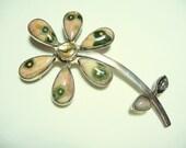 Reserved for Mazagan Huge Designer Charles Albert Sterling Silver Brooch Pendant Enhancer on Etsy