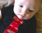Retro Car Tie Shirt or Onesie by MandyAnn- Boy