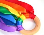 Waldorf Hand Kite - Rainbow