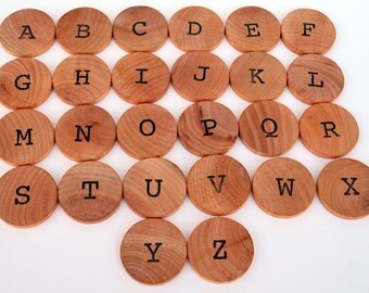 Montessori Alphabet - Educational Toy - Uppercase Letters