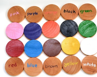English Wooden Memory Game