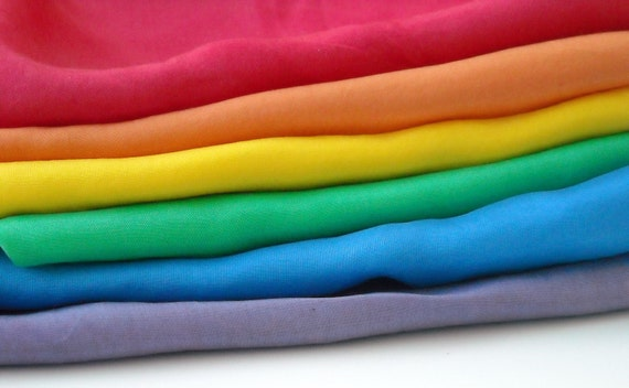 "Playsilks - 21.5"" Rainbow - Set of 6"