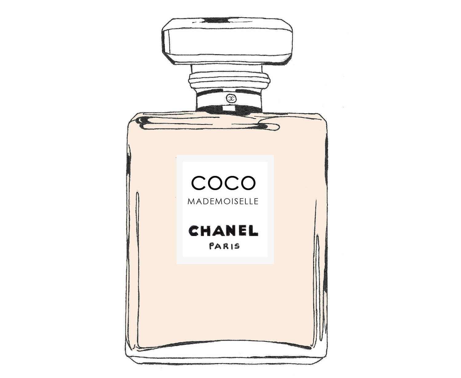 chanel coco mademoiselle perfume bottle fashion by. Black Bedroom Furniture Sets. Home Design Ideas