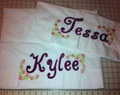 Girl Designs personalized Pillowcases